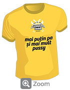 Tricou Cuculand  Pa si Pussy